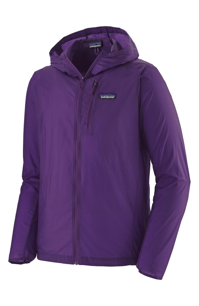 PATAGONIA Houdini<sup>®</sup> Water Repellent Hooded Jacket, Main, color, PURPLE