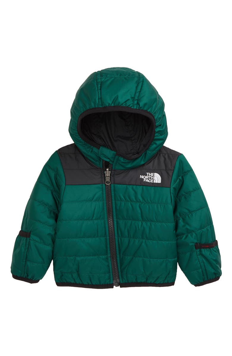 THE NORTH FACE Perrito Reversible Water Repellent Hooded Jacket, Main, color, 301