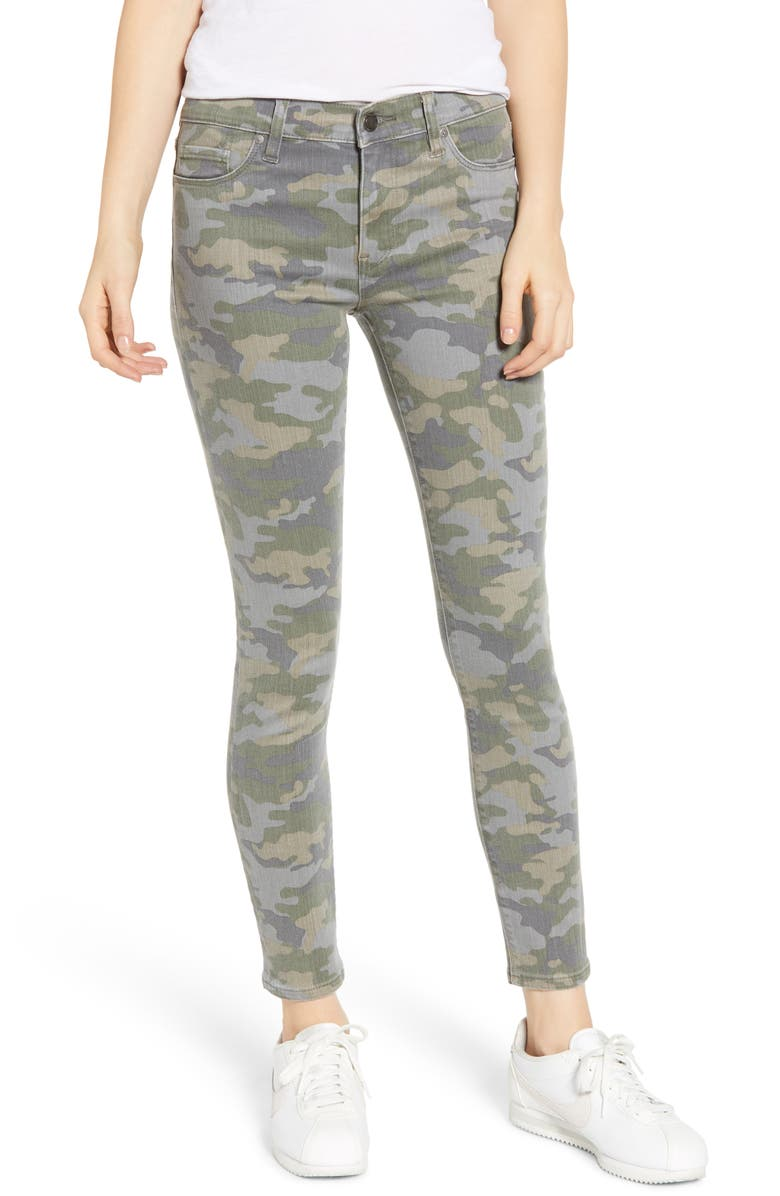 HUDSON JEANS 'Nico' Ankle Coated Skinny Jeans, Main, color, 371