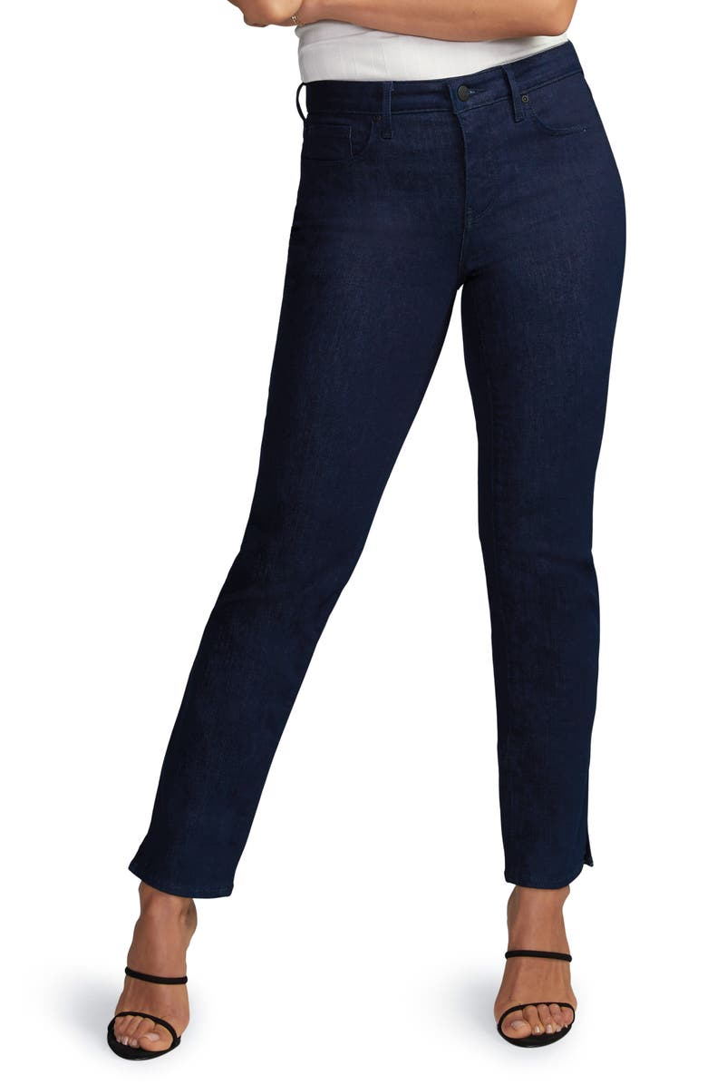 CURVES 360 BY NYDJ Slim Ankle Straight Leg Jeans, Main, color, 408