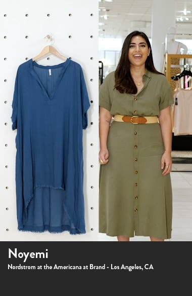Fray Edge Cover-Up Caftan, sales video thumbnail