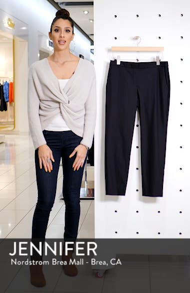 Treeca 2 Good Wool Crop Suit Pants, sales video thumbnail
