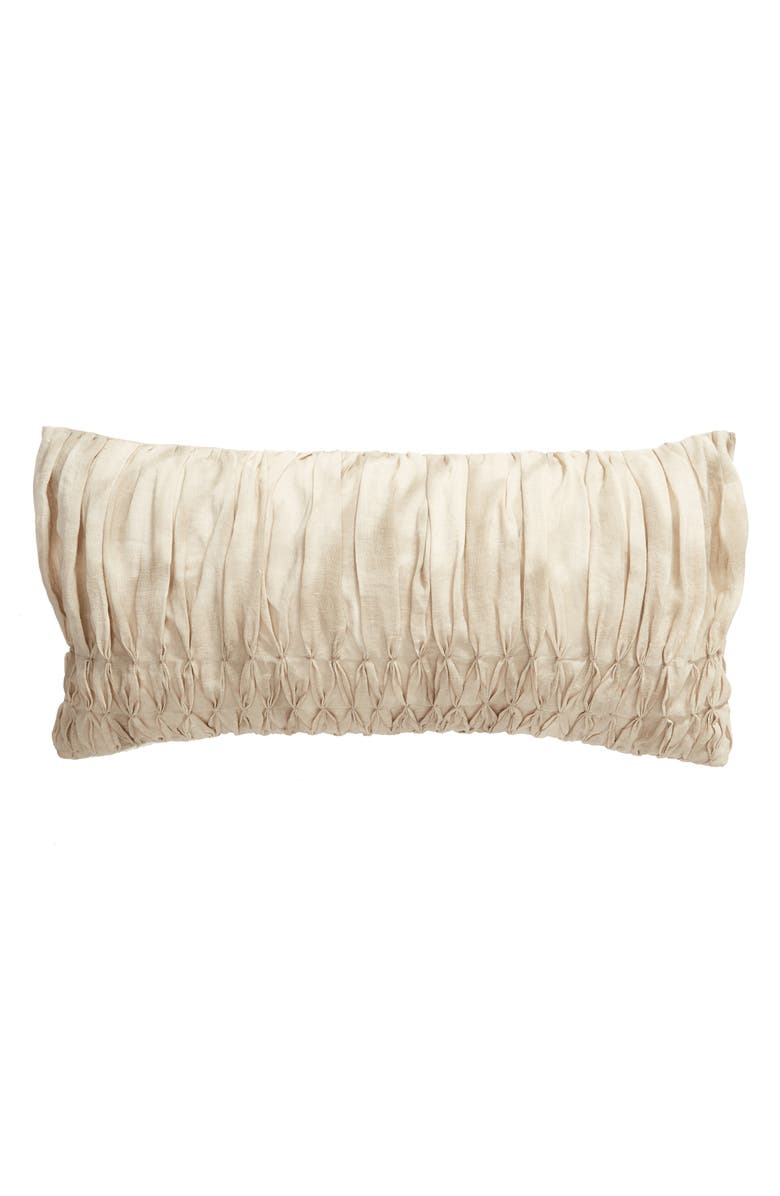 TREASURE & BOND Hand Smocked Accent Pillow, Main, color, 040