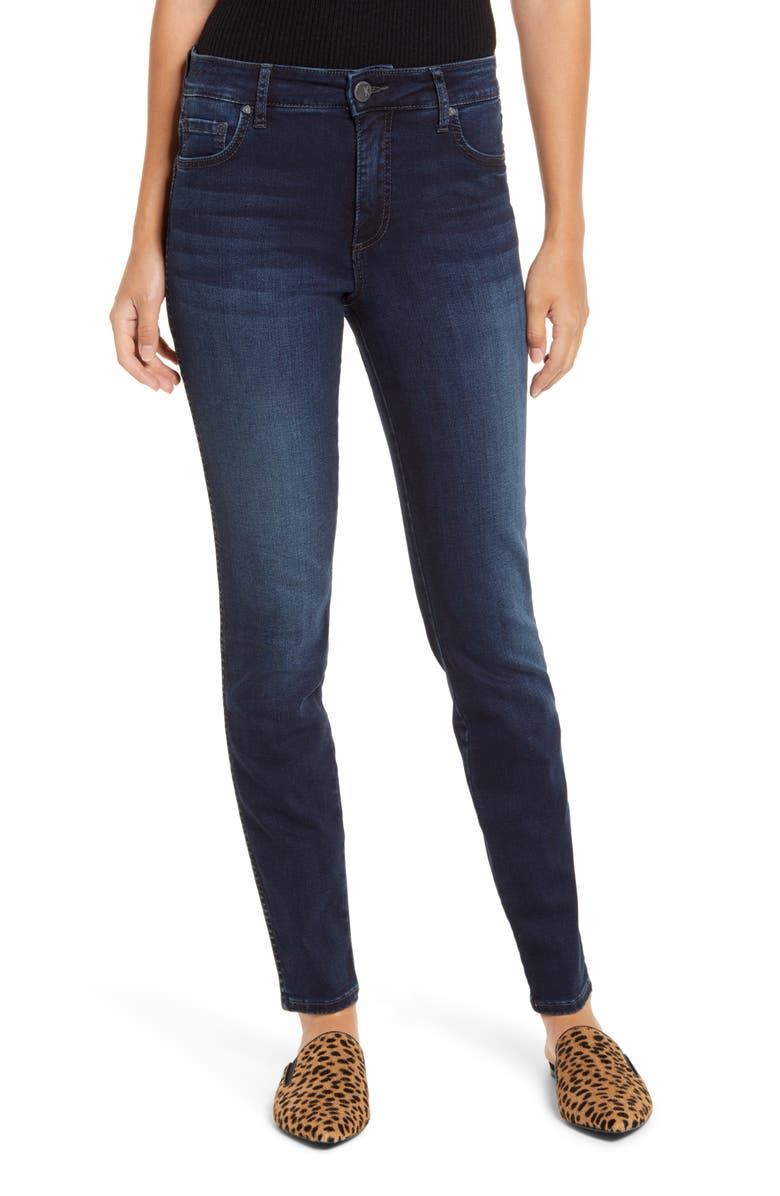 KUT FROM THE KLOTH Diana Fab Ab High Waist Skinny Jeans, Main, color, ATTITUDE