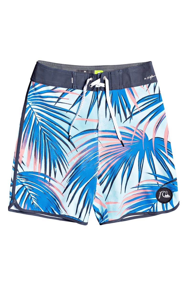 QUIKSILVER Highline Sub Tropic Board Shorts, Main, color, PACIFIC BLUE