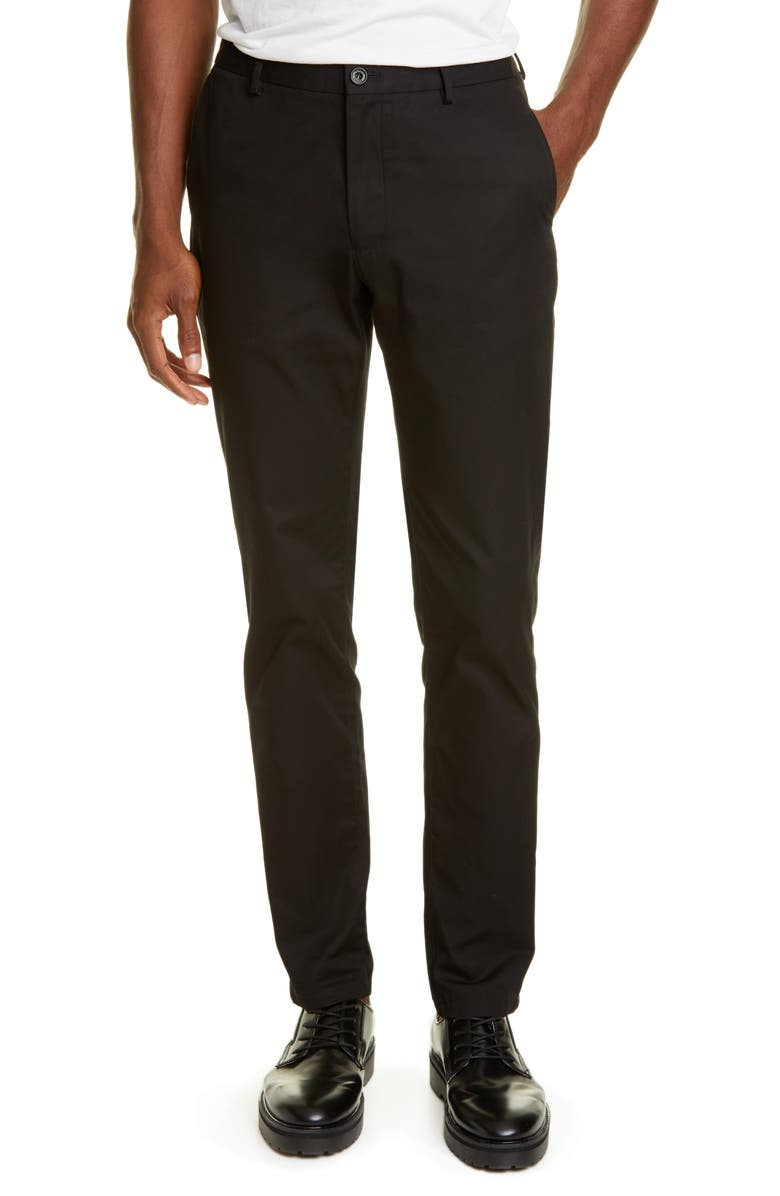 BURBERRY Shibden Chinos, Main, color, BLACK