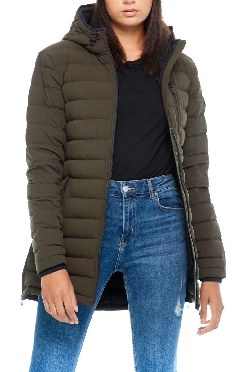 MOOSE KNUCKLES Rockcliff Quilted Down Coat, Main, color, 310