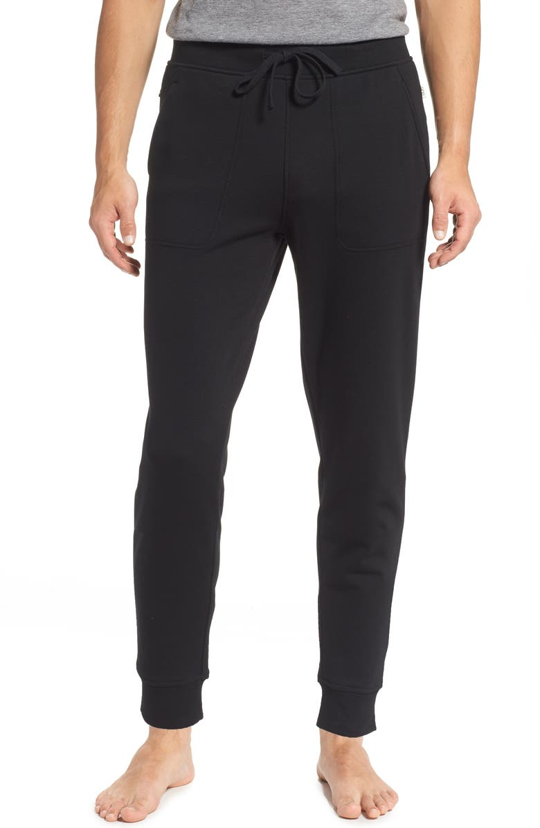 UGG<SUP>®</SUP> Hank Joggers, Main, color, BLACK