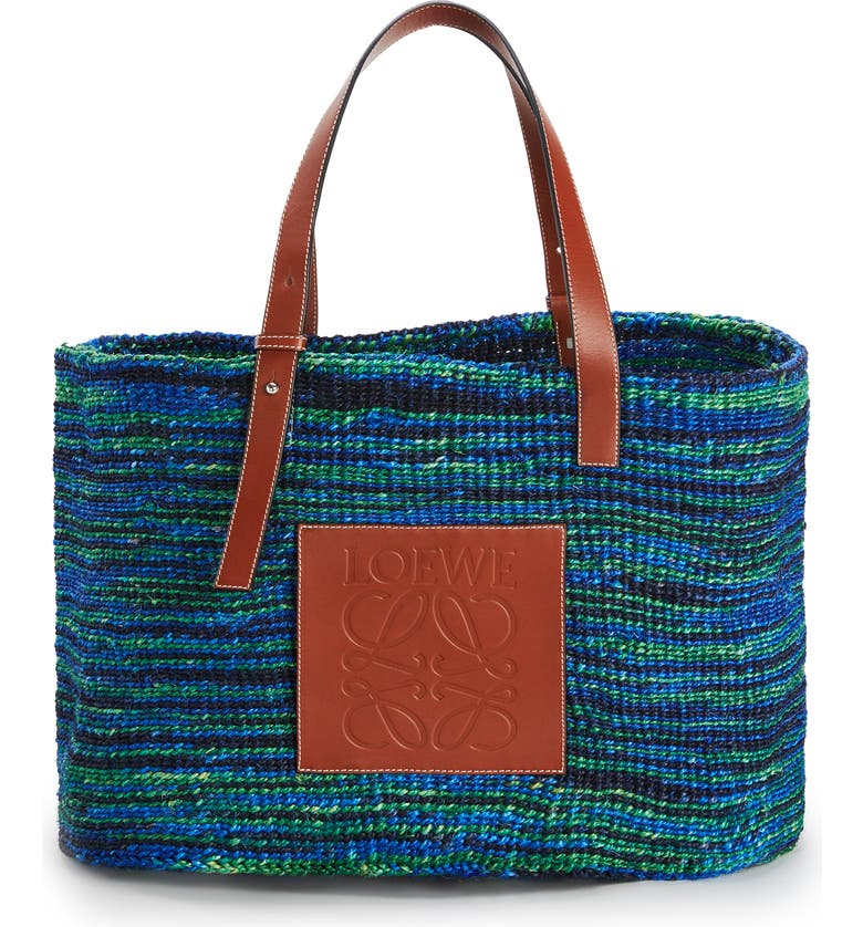 LOEWE x Paula's Ibiza Large Sisal Bag, Main, color, 400