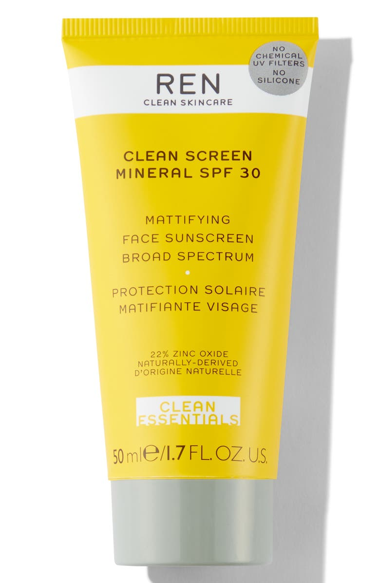 REN CLEAN SKINCARE Clean Screen Mineral SPF 30 Sunscreen, Main, color, NO COLOR