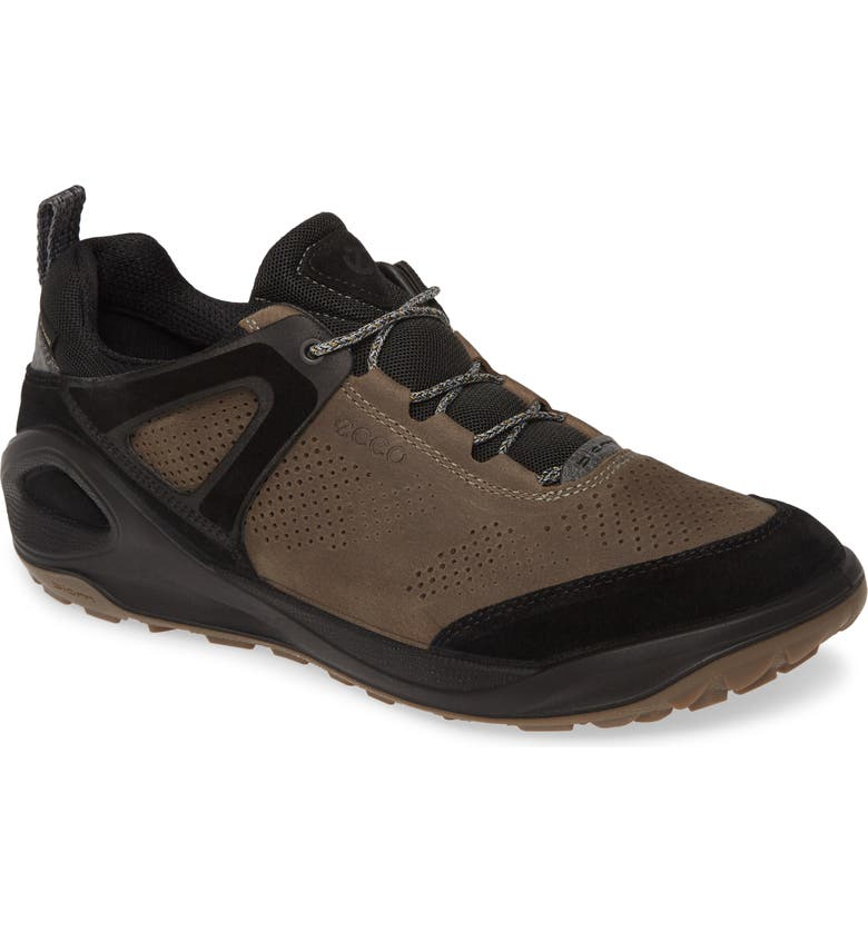 ECCO BIOM 2GO Waterproof Sneaker, Main, color, BLACK/ DARK CLAY LEATHER