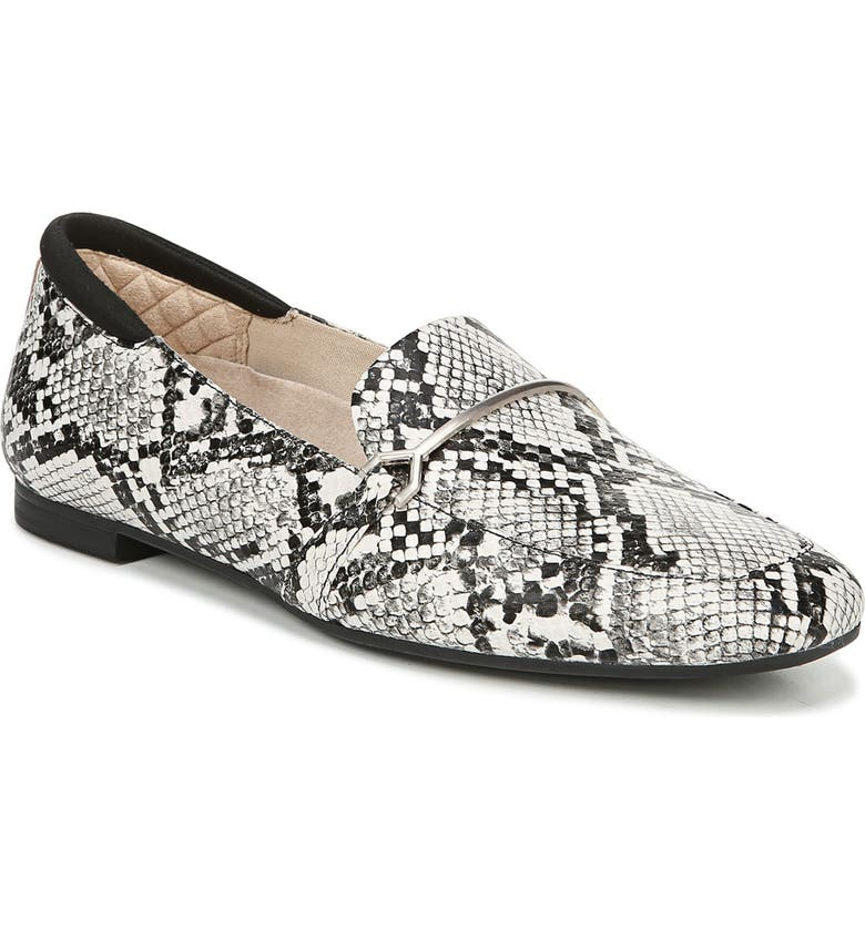 DR. SCHOLL'S Dr. Scholls Mercury Loafer, Main, color, SNAKE PRINT LEATHER