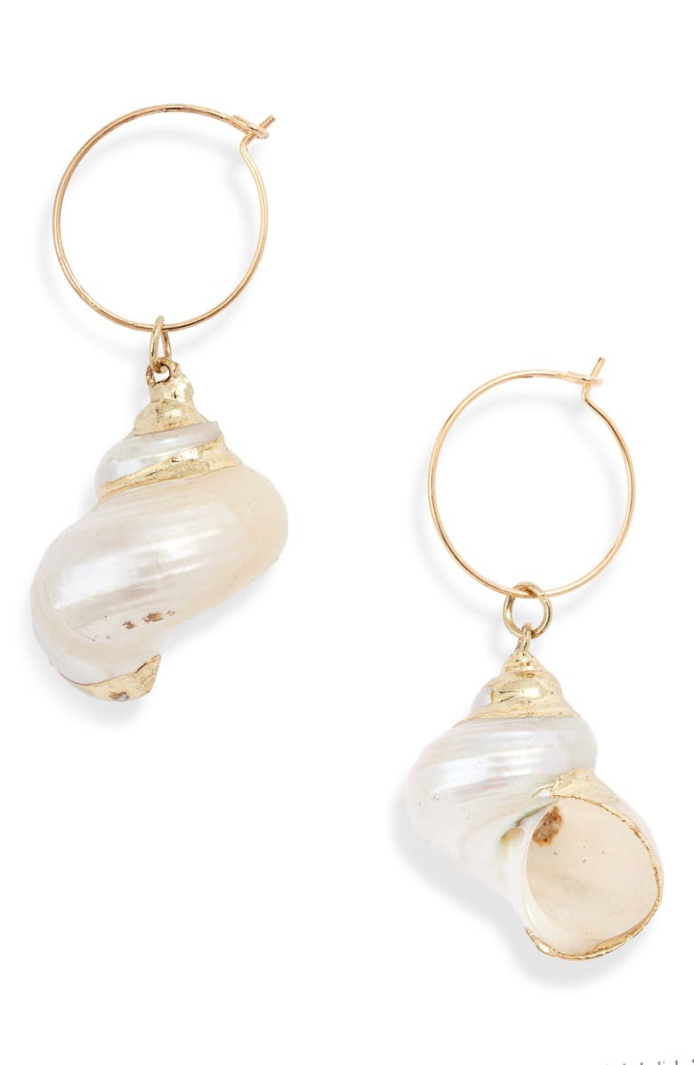 8 OTHER REASONS Chantel Mother-of-Pearl Drop Earrings, Main, color, 710
