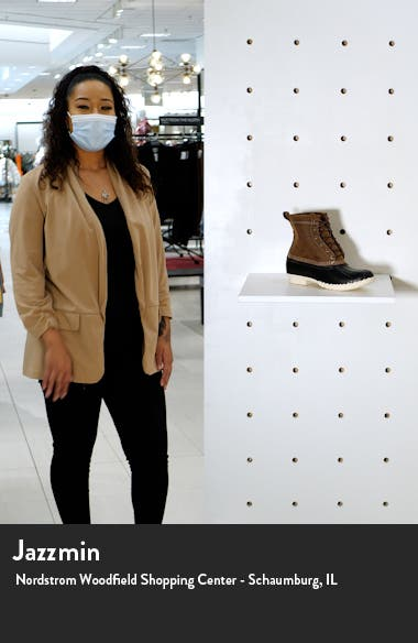 Genuine Shearling Lined Bean Boot, sales video thumbnail