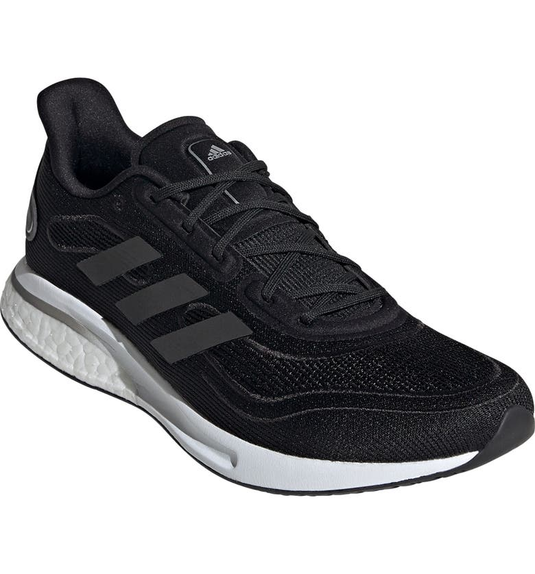 ADIDAS Supernova Running Shoe, Main, color, BLACK/ GREY/ SILVER