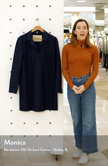 First Act Stretch Jersey Coat, sales video thumbnail