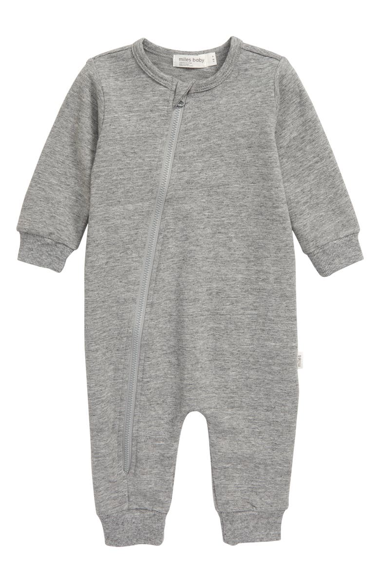 MILES baby Asymmetrical Zip Romper, Main, color, 029