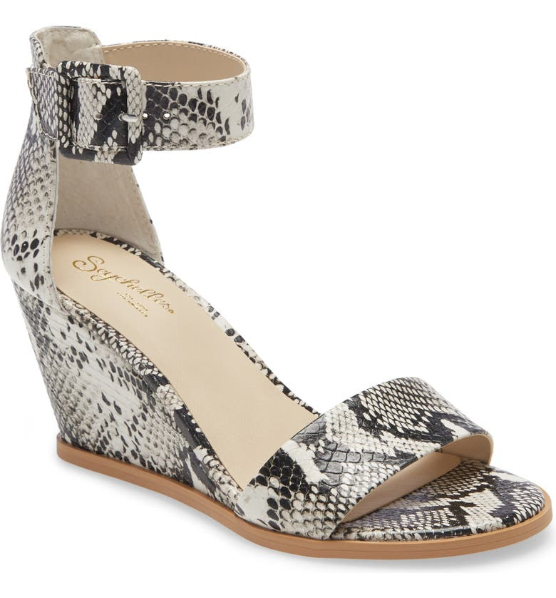 SEYCHELLES Cloud Nine Wedge Sandal, Main, color, 002