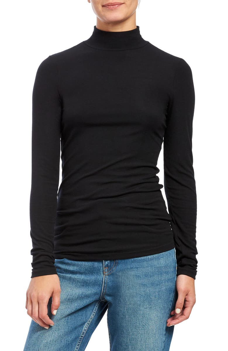 THEORY Turtleneck Top, Main, color, 001