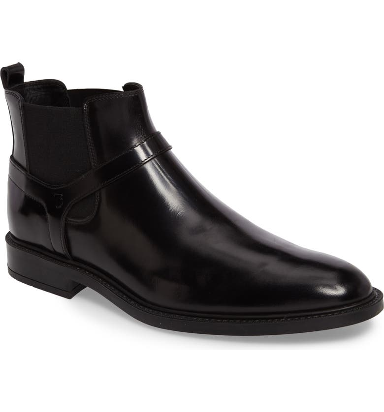 TOD'S Tods Harness Chelsea Boot, Main, color, 001