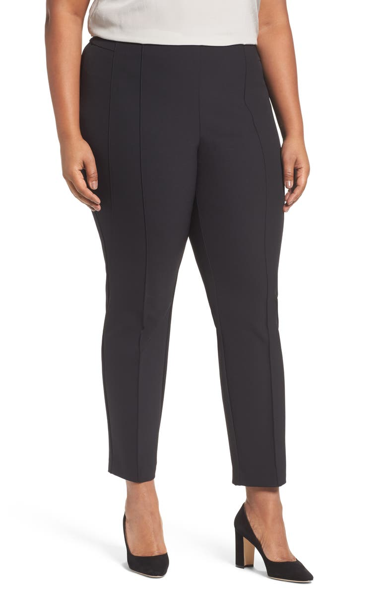 LAFAYETTE 148 NEW YORK Acclaimed Gramercy Stretch Pants, Main, color, 001