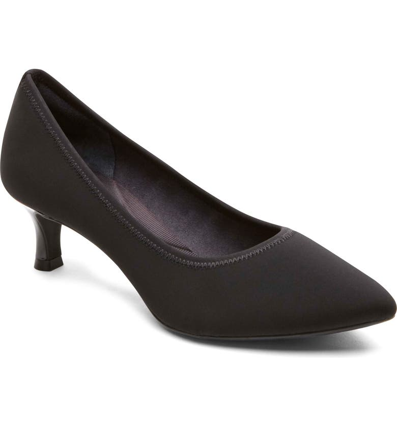 ROCKPORT Total Motion Kaiya Pump, Main, color, BLACK STRETCH