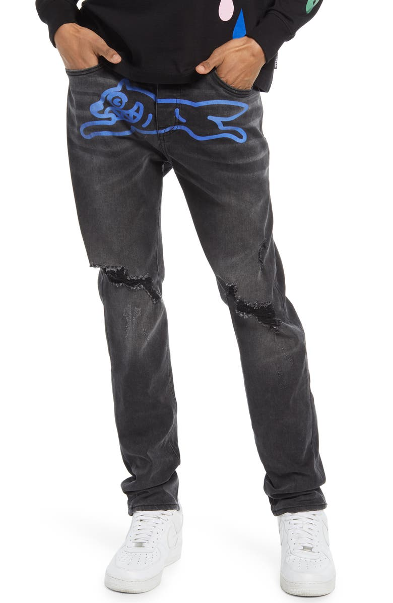 ICECREAM Men's Jade Jeans, Main, color, BLACK JEAN