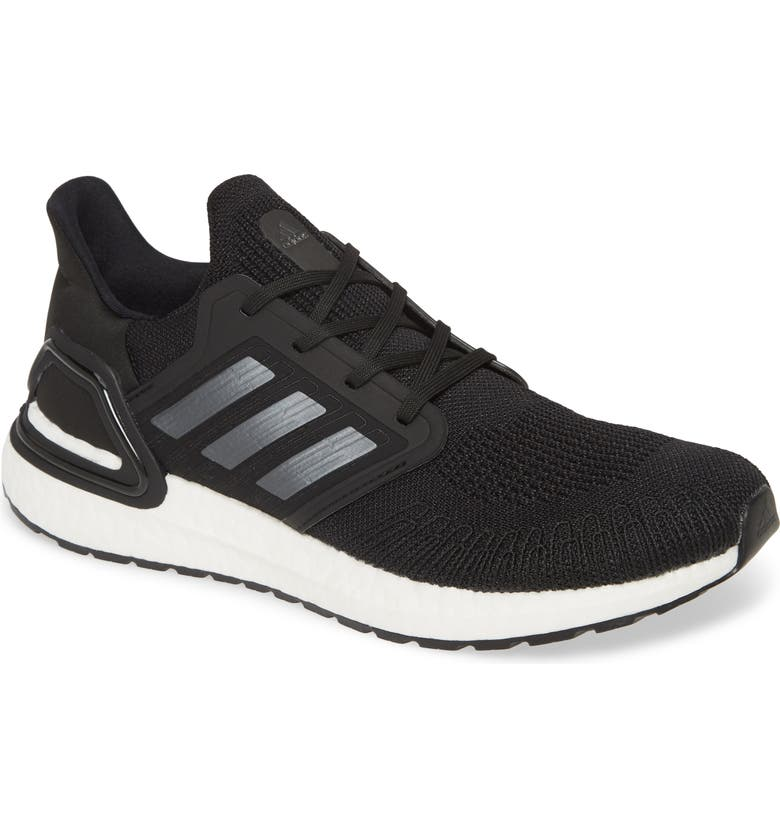 ADIDAS UltraBoost 20 Running Shoe, Main, color, CORE BLACK/ NIGHT/ FTWR WHITE