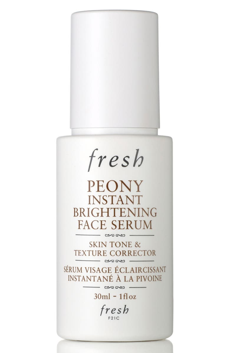 FRESH<SUP>®</SUP> Peony Instant Brightening Face Serum, Main, color, No Color