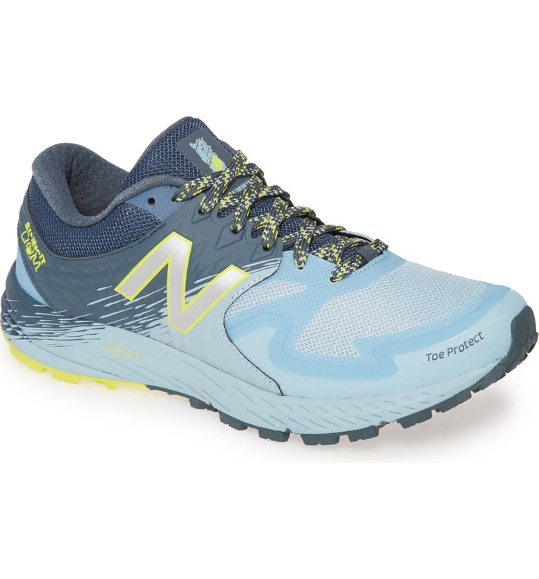NEW BALANCE Summit Q.O.M. Trail Running Shoe, Main, color, 400