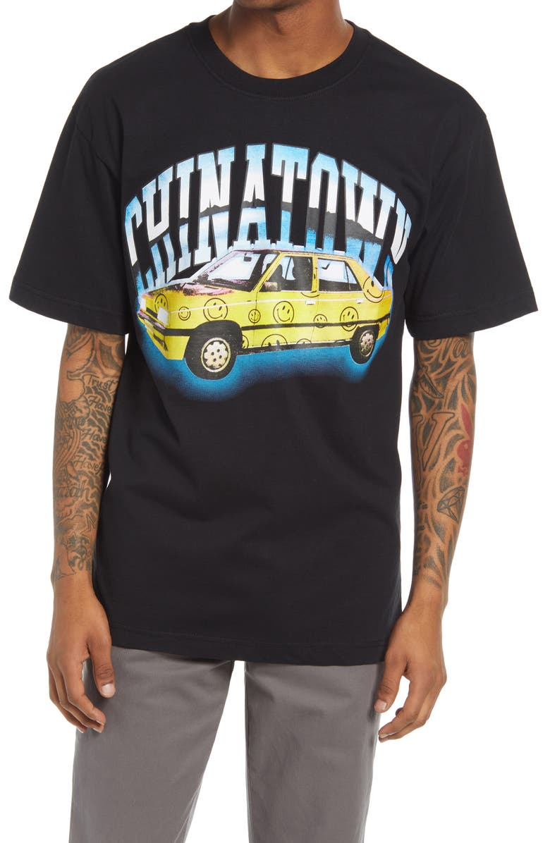 CHINATOWN MARKET Low Rider Graphic Tee, Main, color, BLACK