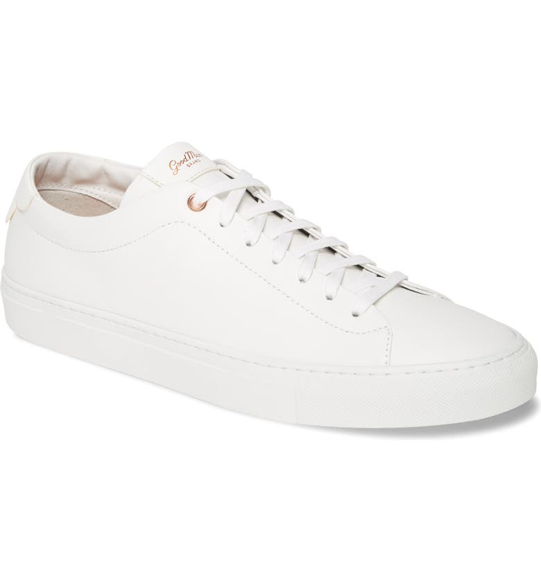 GOOD MAN BRAND Edge Sneaker, Main, color, WHITE