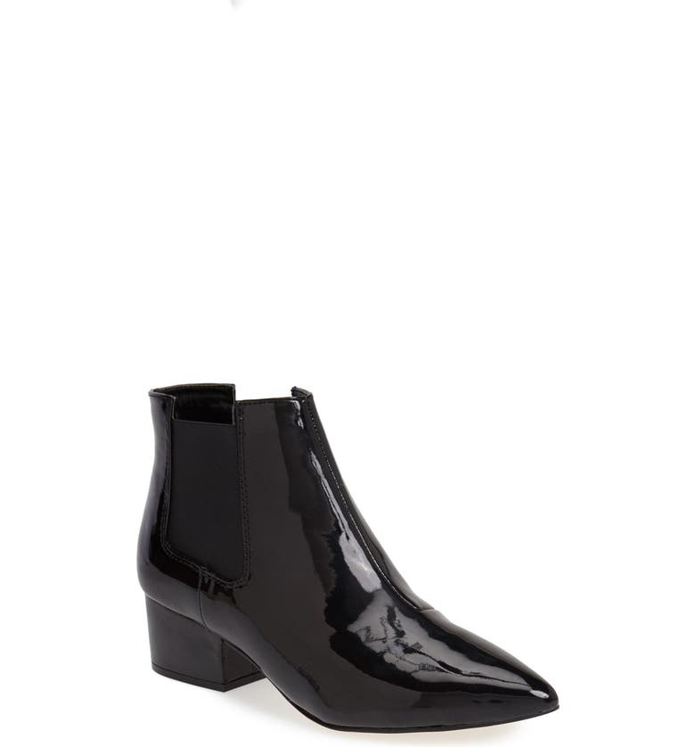FRENCH CONNECTION 'Ronan' Bootie, Main, color, BLACK PATENT