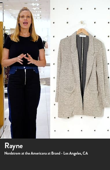 Tweed Knit Blazer, sales video thumbnail