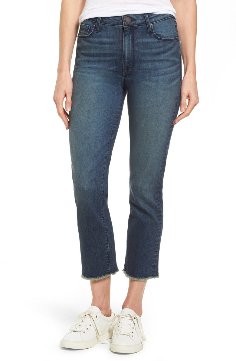 PARKER SMITH Pin-Up Straight Crop Jeans, Main, color, 424