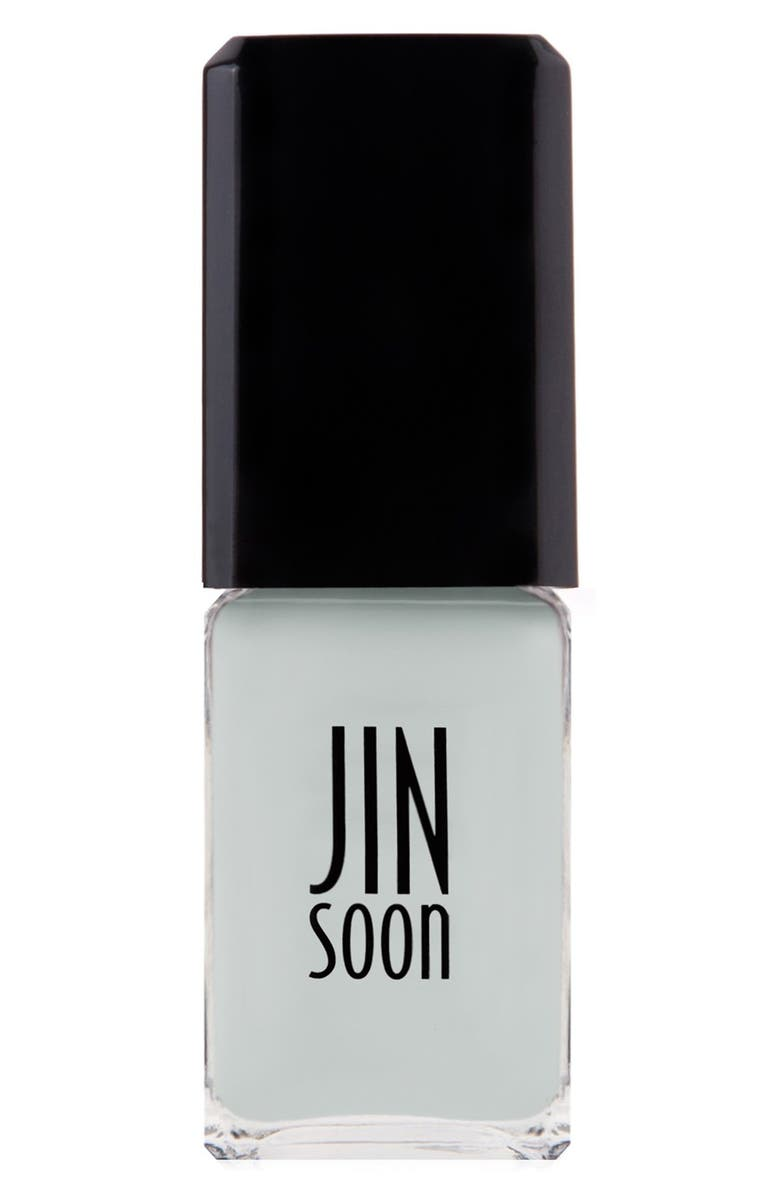 JINSOON 'Kookie White' Nail Lacquer, Main, color, 100