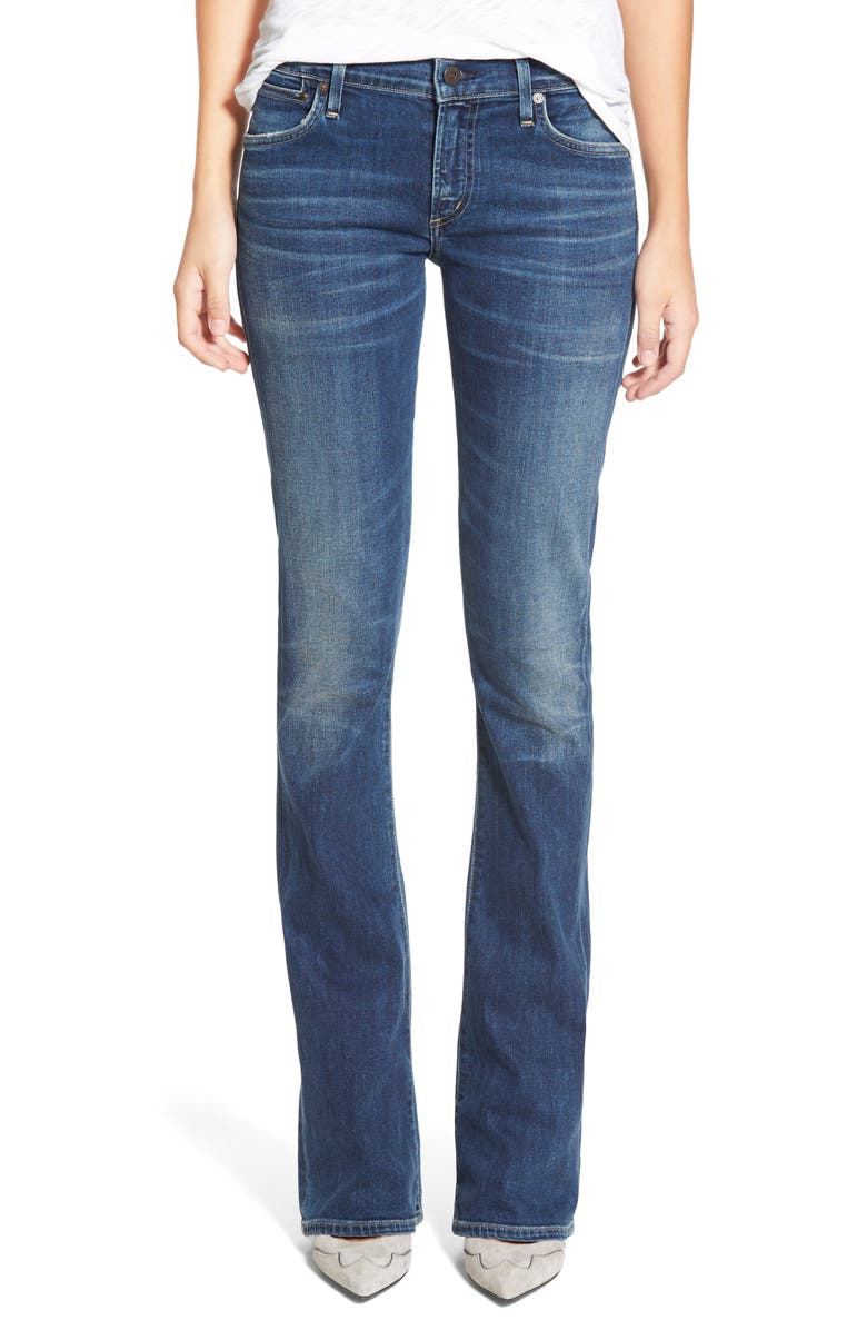 CITIZENS OF HUMANITY 'Emannuelle' Slim BootcutJeans, Main, color, 462