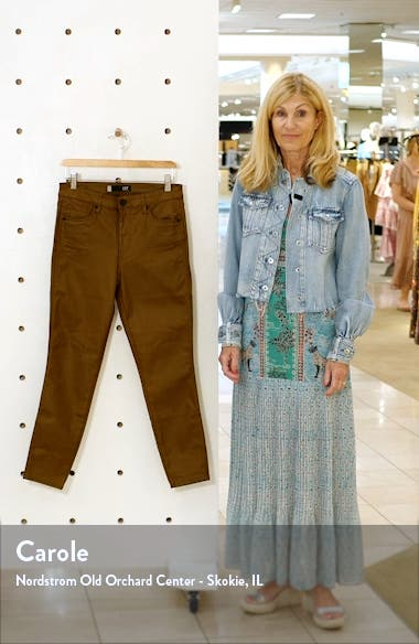 Donna Coated High Waist Ankle Skinny Jeans, sales video thumbnail