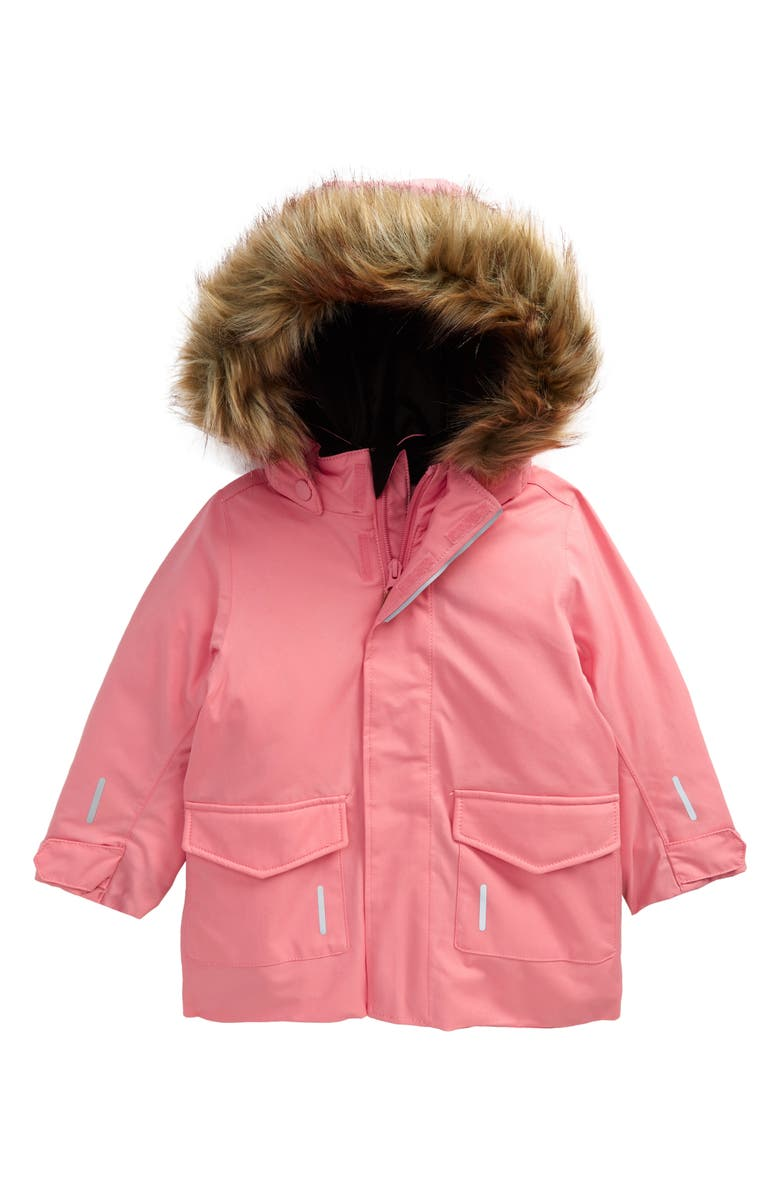 REIMA Reimatec<sup>®</sup> Mutka Waterproof Winter Jacket with Faux Fur Trim, Main, color, 650