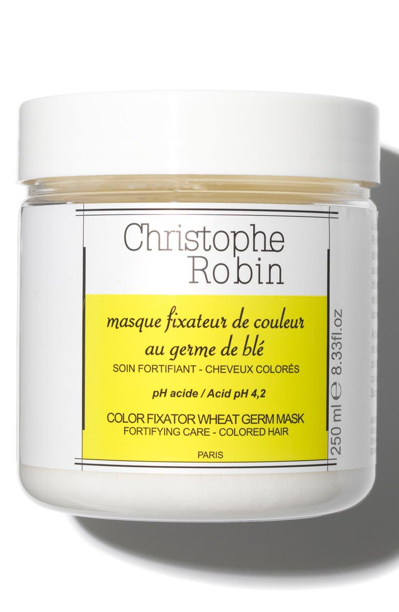 CHRISTOPHE ROBIN Color Fixator Wheat Germ Mask, Main, color, 000