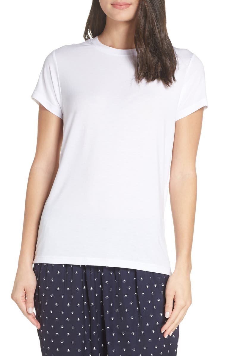 SOMETHING NAVY Easy Tee, Main, color, 100