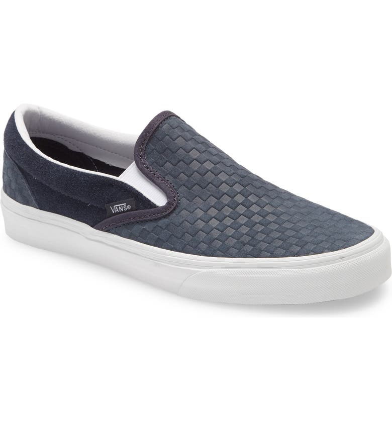 VANS Embossed Mini Check Classic Slip-On Sneaker, Main, color, 420