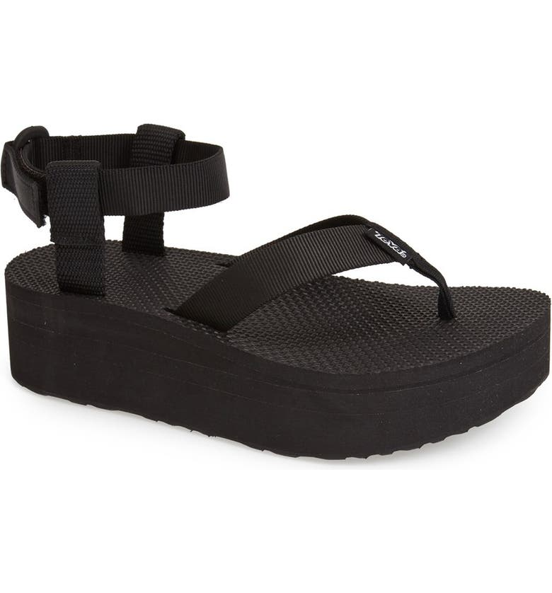TEVA 'Original' Flatform Sandal, Main, color, 001