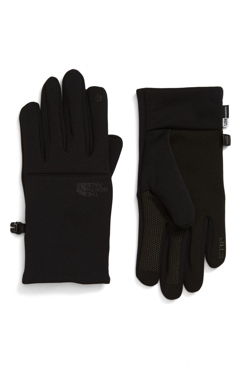 THE NORTH FACE Etip Gloves, Main, color, TNF BLACK