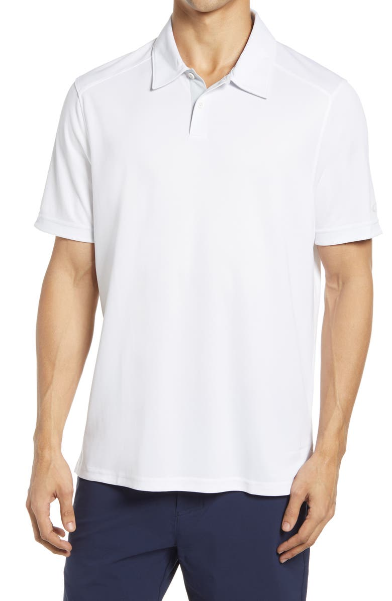 OAKLEY Divisional 2.0 Performance Golf Polo, Main, color, WHITE