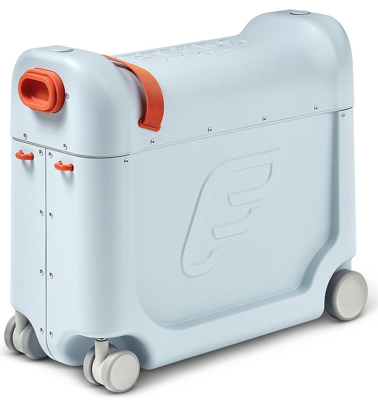STOKKE Jetkids by Stokke Bedbox<sup>®</sup> 19-Inch Ride-On Carry-On Suitcase, Main, color, BLUE
