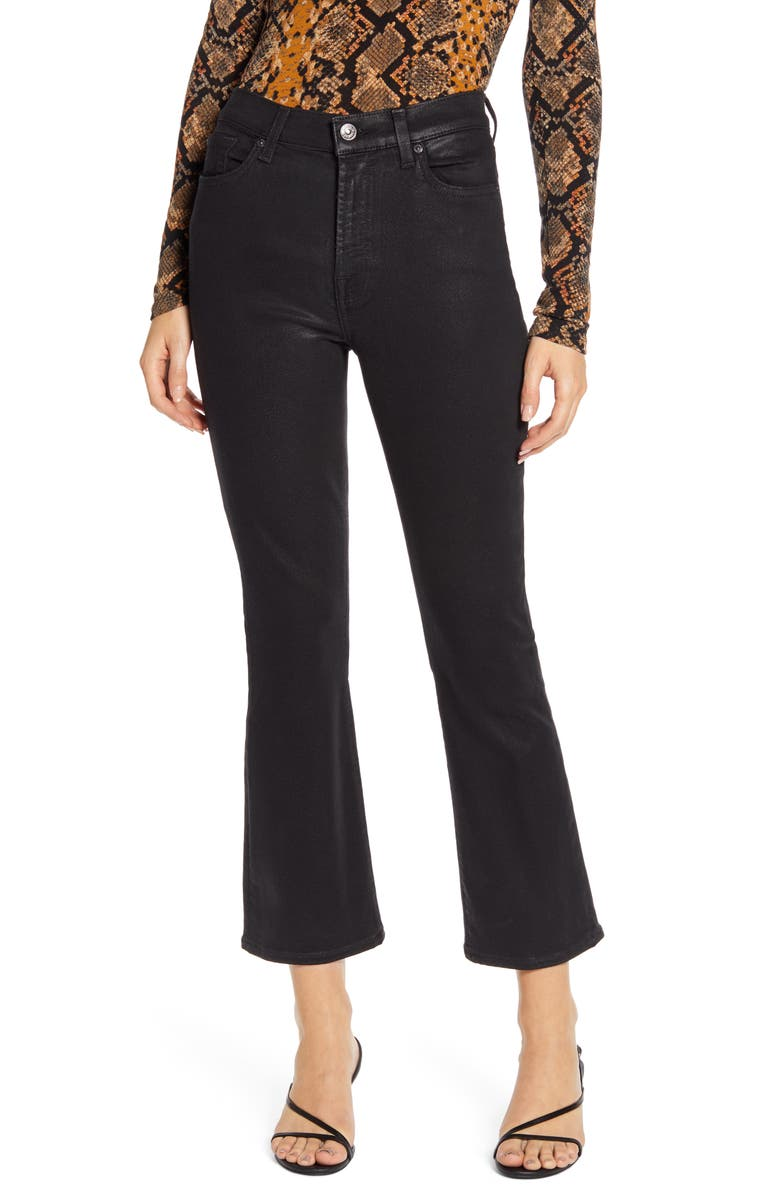 7 FOR ALL MANKIND<SUP>®</SUP> Slim High Waist Ankle Kick Jeans, Main, color, 004