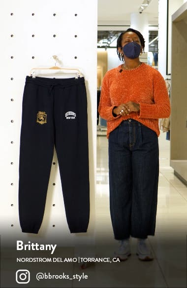 HSTRY by NAS x Coming 2 America Queens Colorblock Sweatpants, sales video thumbnail