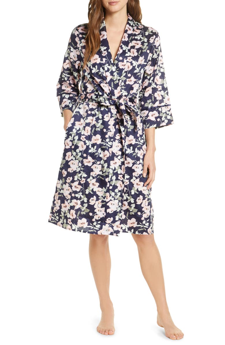 PAPINELLE Poppies Cotton Robe, Main, color, 400