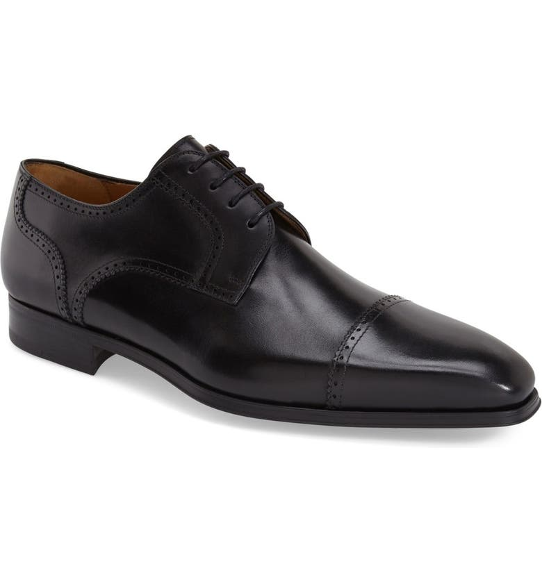 MAGNANNI 'Carlito' Cap Toe Derby, Main, color, 001